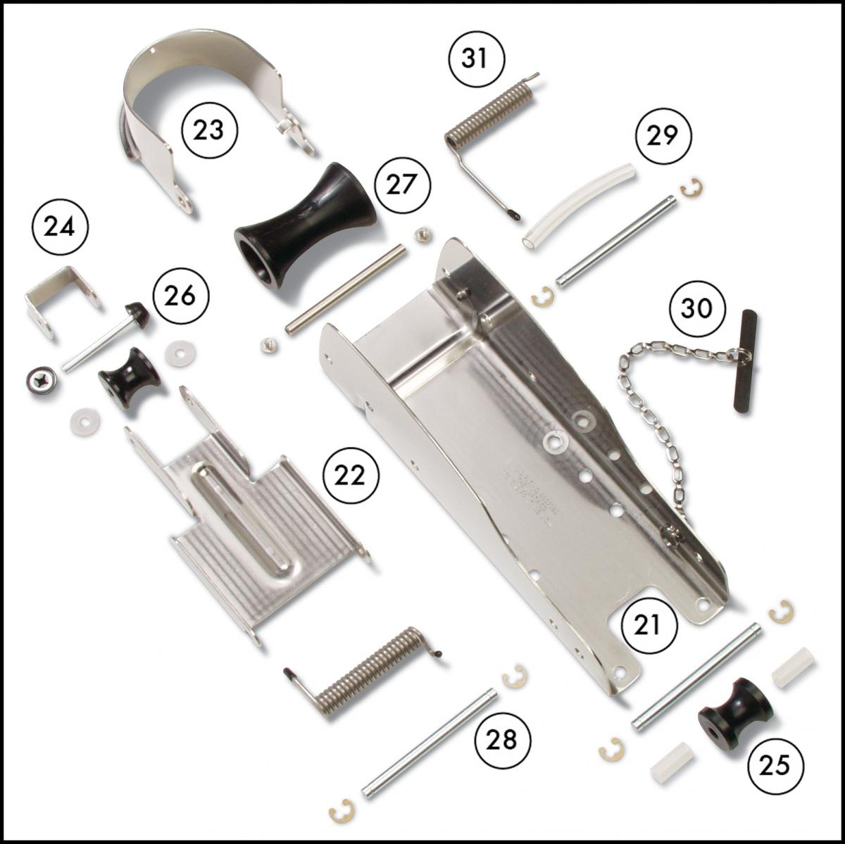 Anchormate ST replacement parts