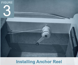 Installing Anchor Reel - Anchormate II