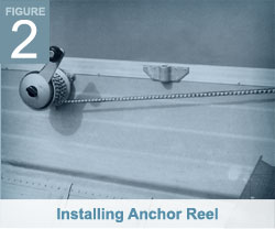 Installing Anchor Reel - Anchormate